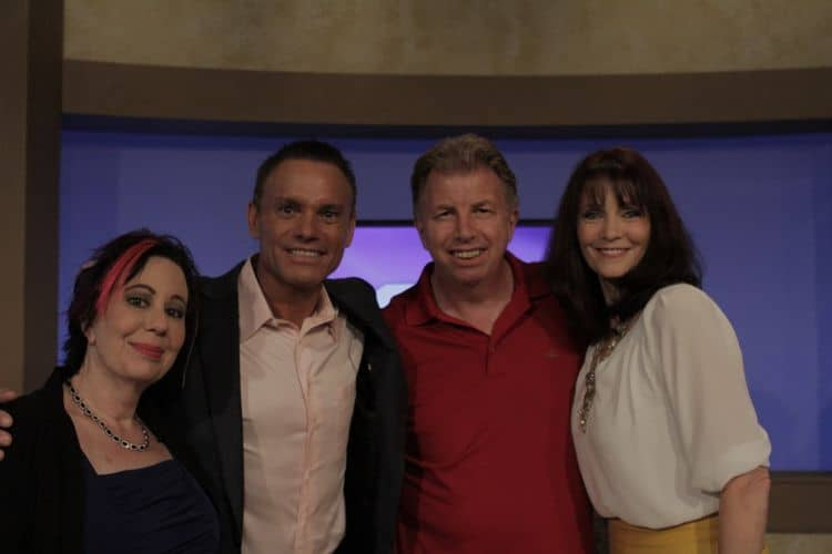 Kevin Harrington with Bob, Laura & Vonabell
