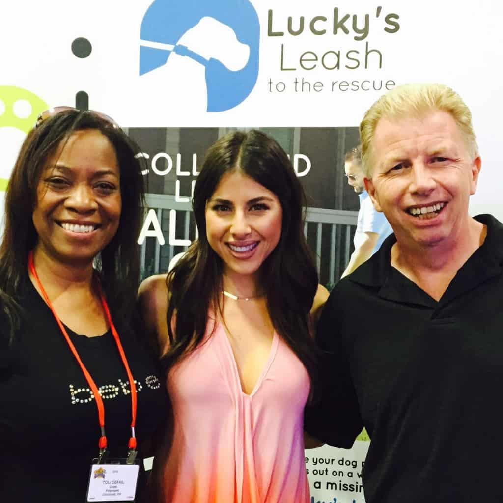 Daniella Money with Bob & Toli