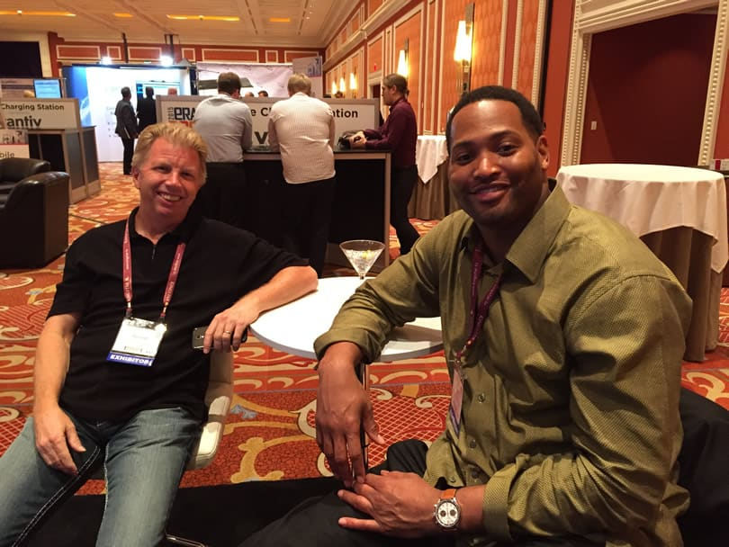 Robert Horry & Bob @ Trade Show Appearance