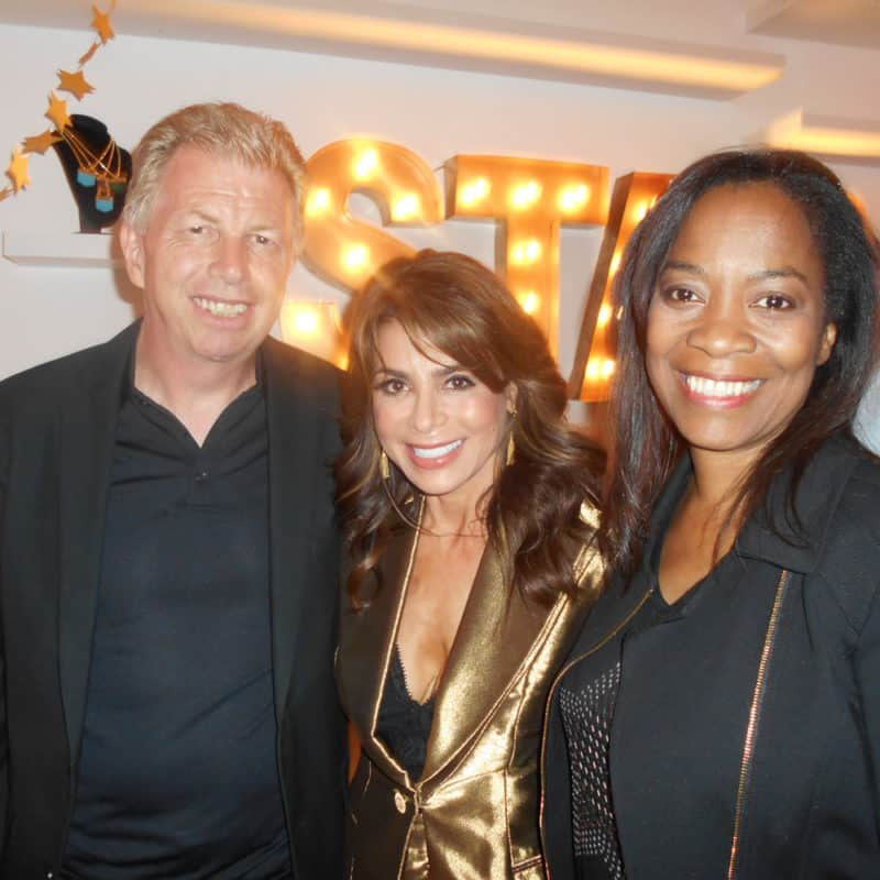 Paula Abdul with Bob & Toli @ Star Shop Launch