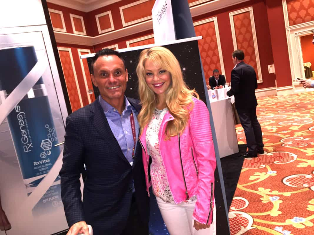 Charlotte Ross & Kevin Harrington