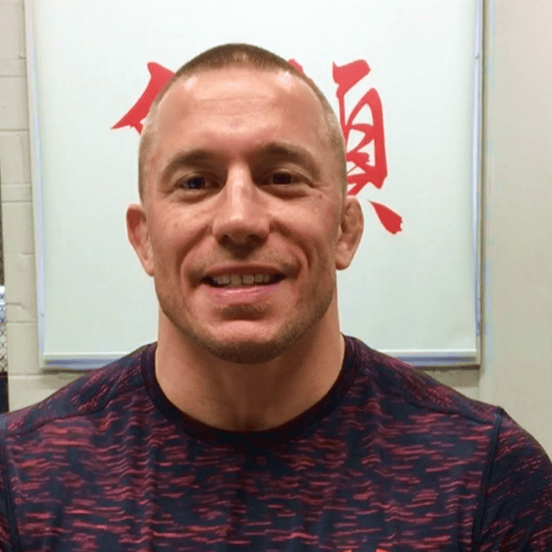 George St-Pierre Social Post