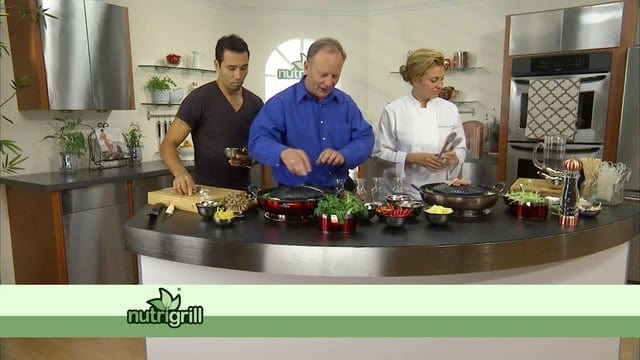 The Nutrigrill Electric Barbecue featuring Donatella Arpaia & Brett Hobel