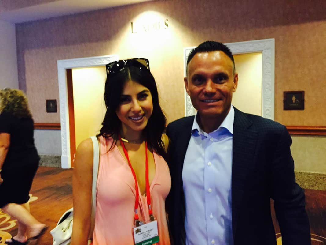 Kevin Harrington & Daniella Monet - Trade Show Appearance
