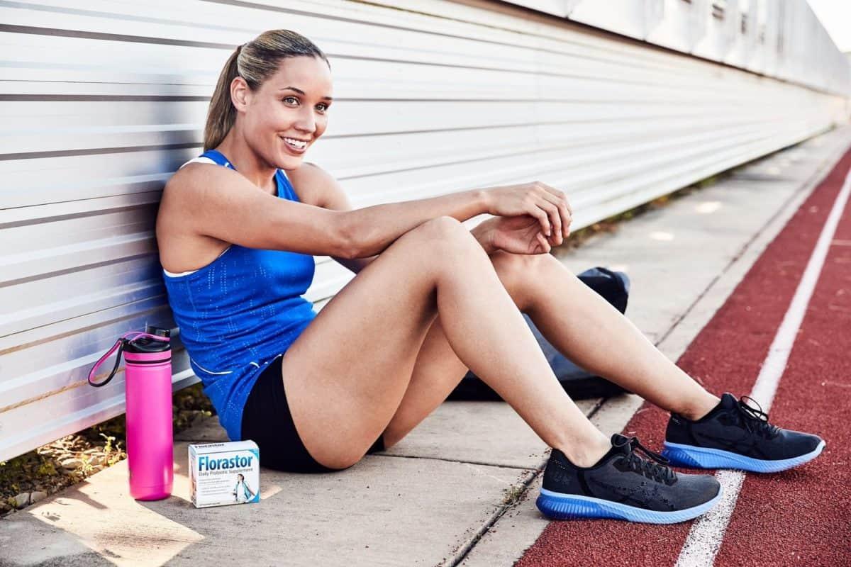 Olympian Lolo Jones Florastor Campaign