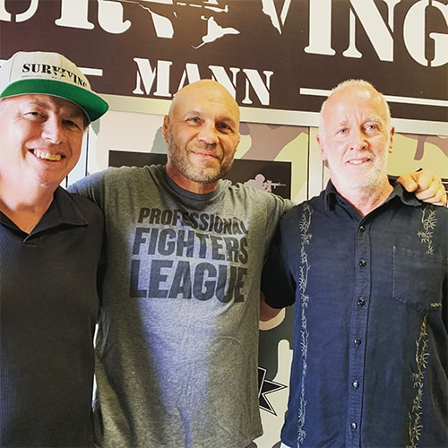 Randy Couture, Don Mann & Bob @ Couture GI Foundation Event for Surviving Mann